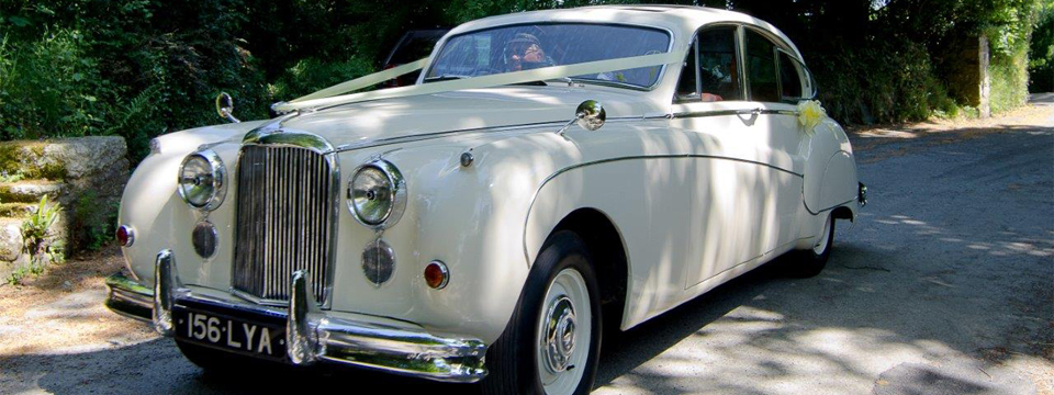 Josephine classic wedding car for hire